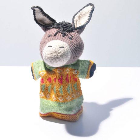 Donkey Cotton Hand Puppet