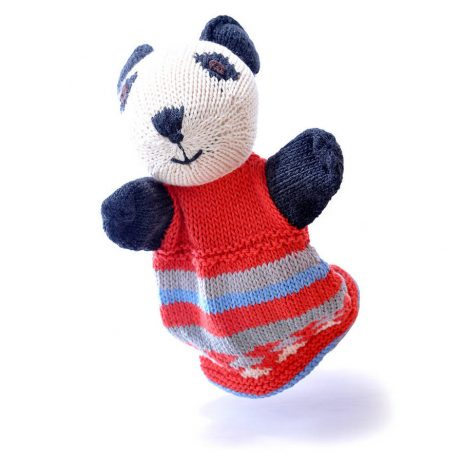 Panda Cotton Hand Puppet