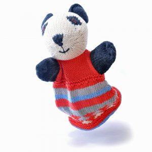 Panda Cotton Hand Puppet