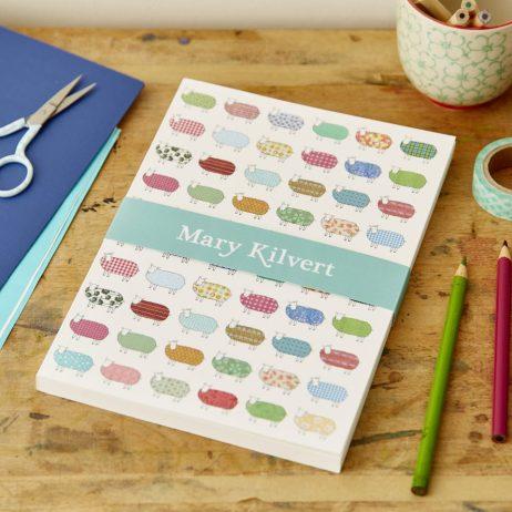 A5 Sheep Pattern Notebook