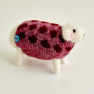 Cranberry the Felted Sheep