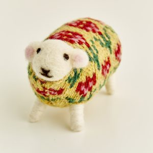 Petal the Felted Sheep