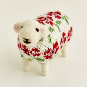 Poppy the Felted Sheep