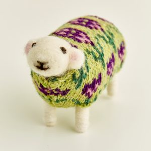 Tulip the Felted Sheep