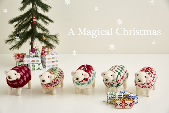 Christmas Sheep by Mary Kilvert