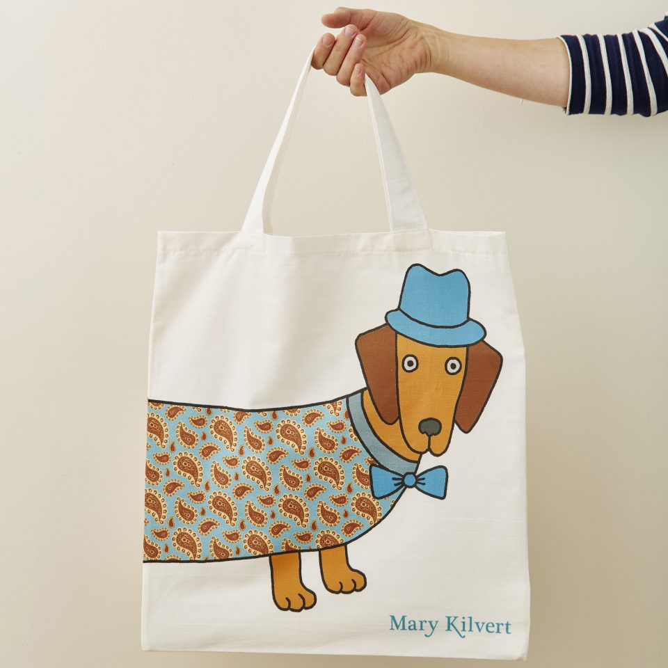 Larry the Long Dog Bag Front