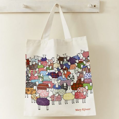 Flock of Colourful Sheep Bag