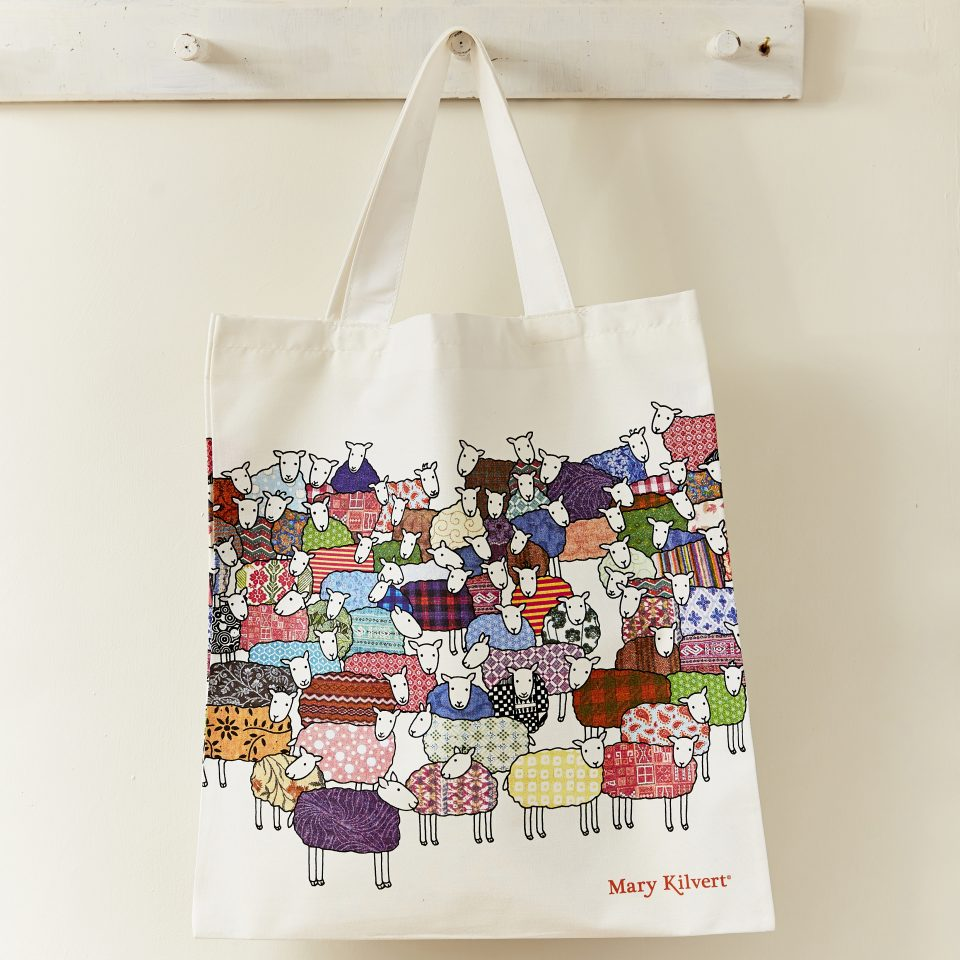 Colourful Sheep Bag Mary Kilvertmary Kilvert