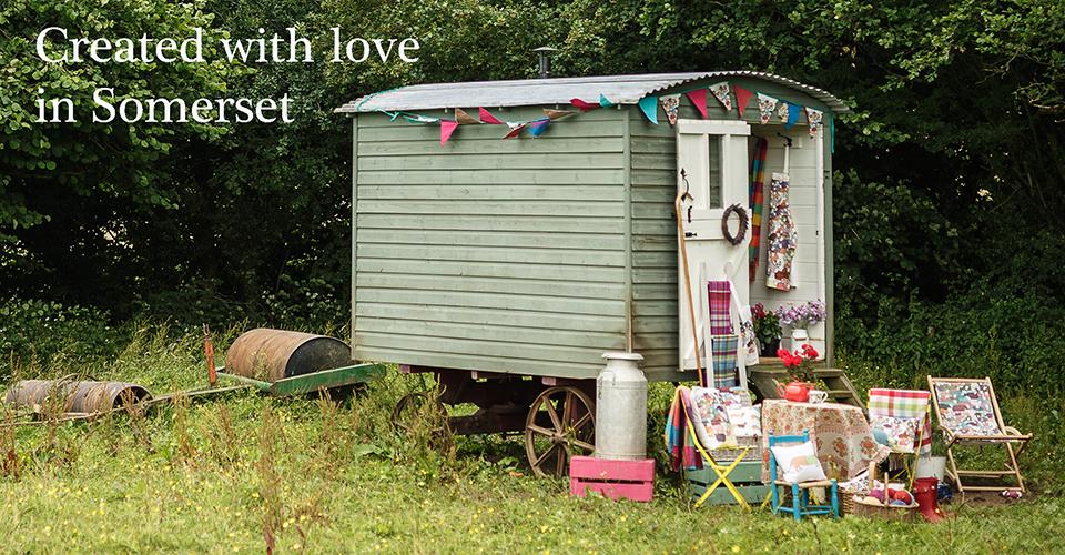 Shepherd's Hut Banner - Mary Kilvert