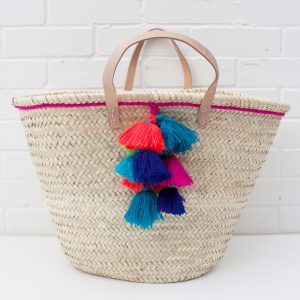 Fiesta Basket in Fuchsia