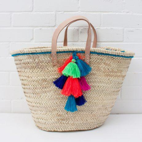 Fiesta Basket in Teal