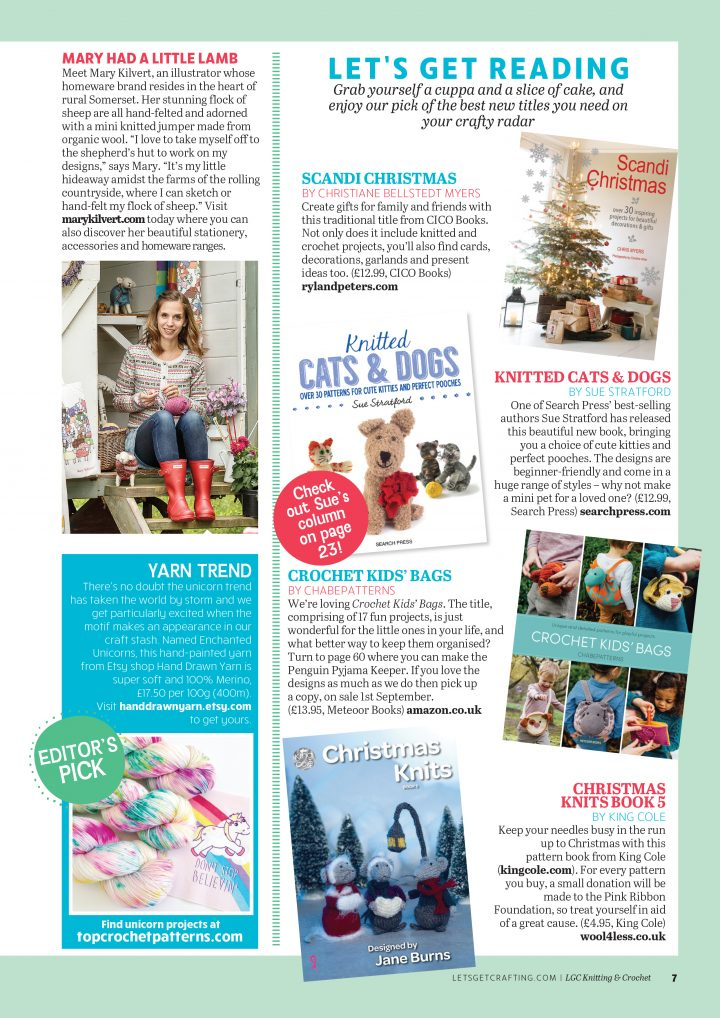 Let's Get Crafting Magazine Feature
