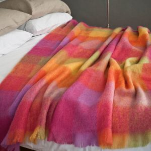 Mohair Throw Lotus