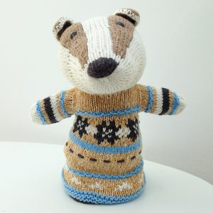 Badger Cotton Hand Puppet