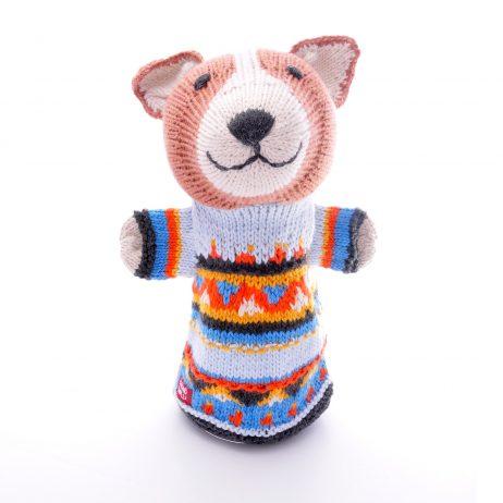 Corgi Cotton Hand Puppet