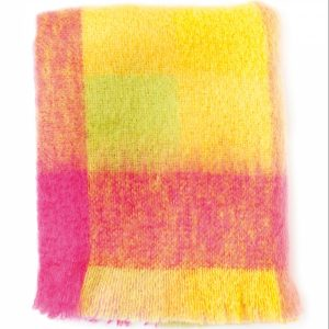 Lotus Mohair Throw by Avoca