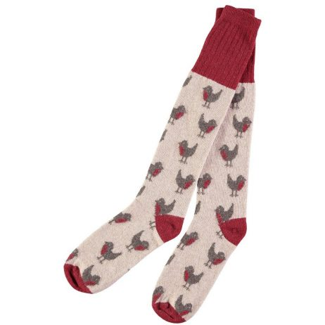 Lambswool Robin Knee Socks by Catherine Tough