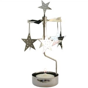 Star Rotary Tealight Candle Holder