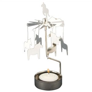 Horse Rotary Tealight Candle Holder