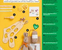 Simply Knitting Magazine Easter article