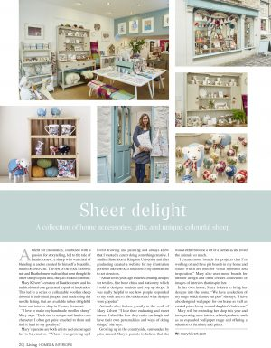 Somerset Living Magazine article