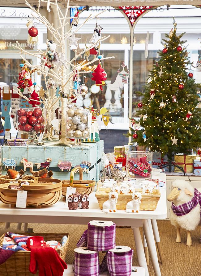 Mary Kilvert Christmas Interior