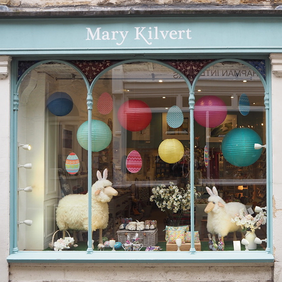 Mary Kilvert Easter Window