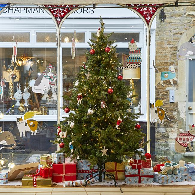 Mary Kilvert Christmas Shop Interior