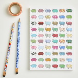 Large Sheep Pattern Notebook
