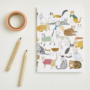 Crafty Cats Notebook