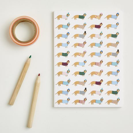 Small Long Dog Notebook