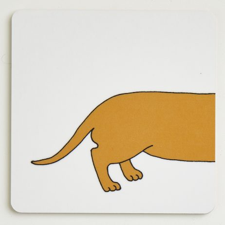 Long Dog Coasters - Bottom