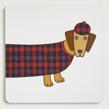 Long Dog Coasters - Douglas