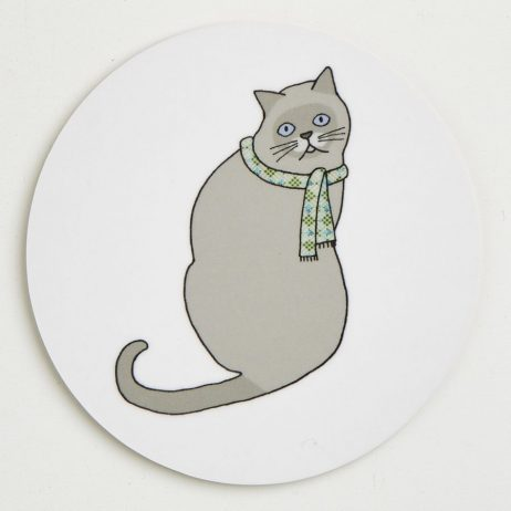 Cat Coasters - Alfred