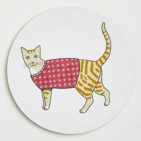 Cat Coasters - Dougal
