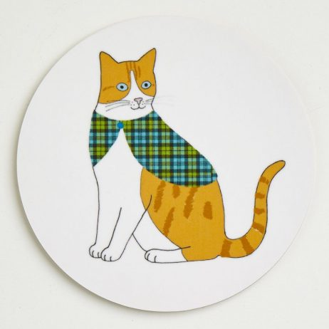 Cat Coasters - Ginger
