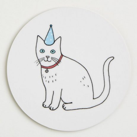 Cat Coasters - Snowy
