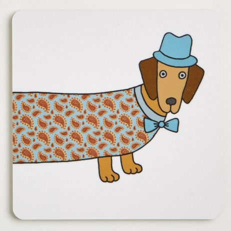 Long Dog Coasters - Robert
