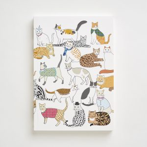 Large Crafty Cats Notebook