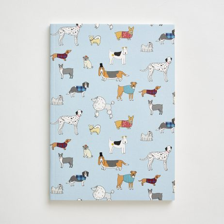 Small Dog Pattern Notebook