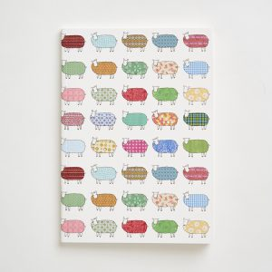 Small Sheep Pattern Notebook