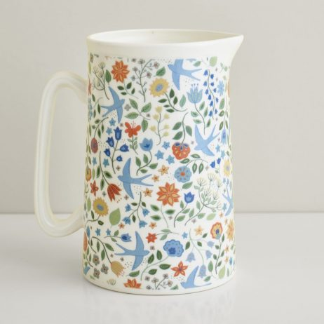Summer Swallows Jug