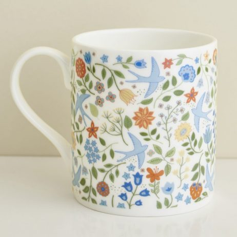 Summer Swallows Mug