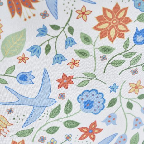 Summer Swallows Tea Towel Detail