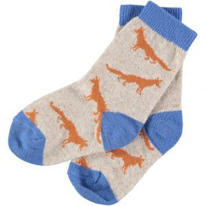 fox children's ankle socks by Catherine Tough