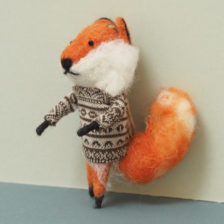 Felix Felt Fox Decoration