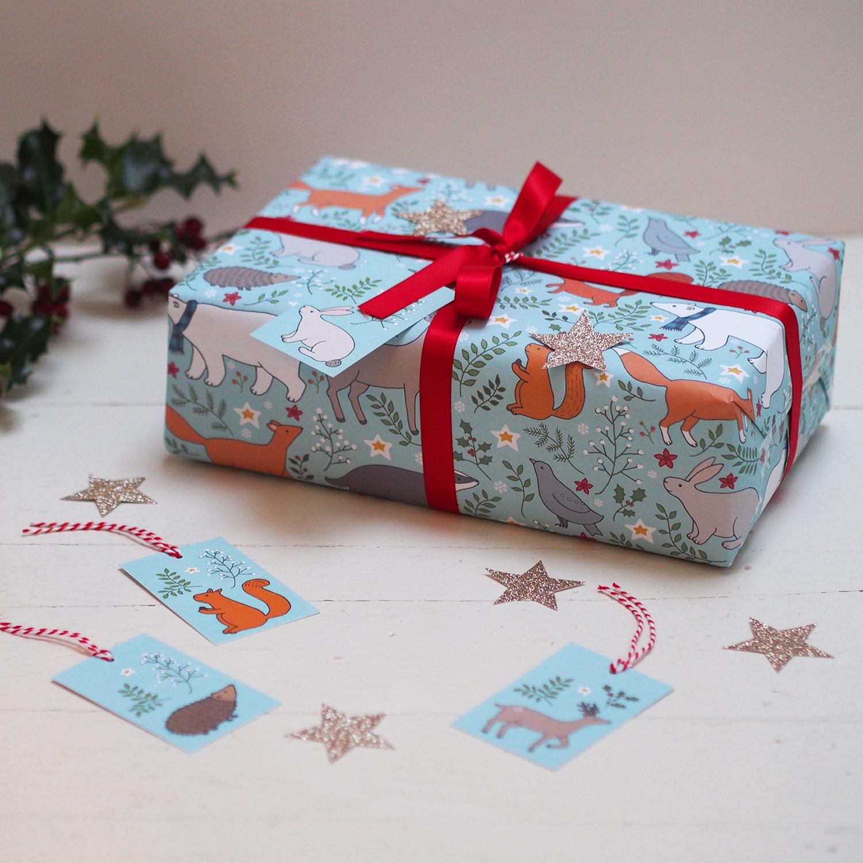 Winter Woodland Gift Wrap