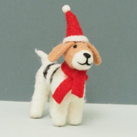 Felt Beagle Decoration