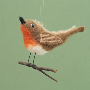 Felt Robin Decoration