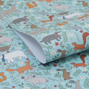 Winter Woodland Gift Wrap by Mary Kilvert